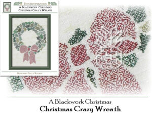 ABC-0662: Christmas Crazy Wreath