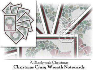 TBC-0662: Christmas Crazy Wreath Notecards