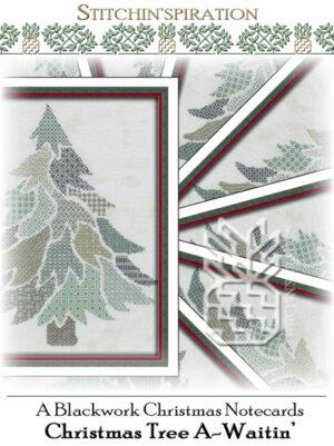 TBC-0663: Christmas Tree A-Waitin' Notecards