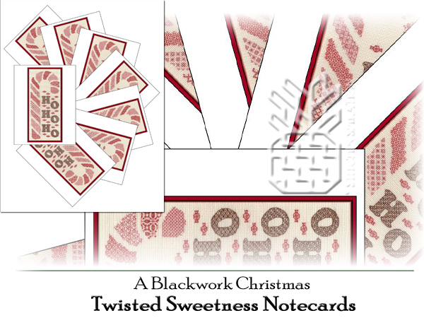 TBC-0761: Twisted Sweetness Notecards