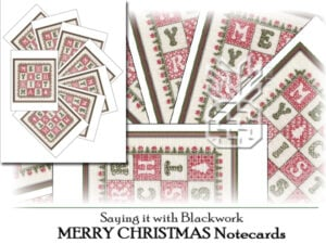 TBS-4102: MERRY CHRISTMAS Notecards