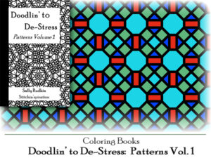 DtDs-P01: Doodlin' to De-stress: Patterns Vol. 1