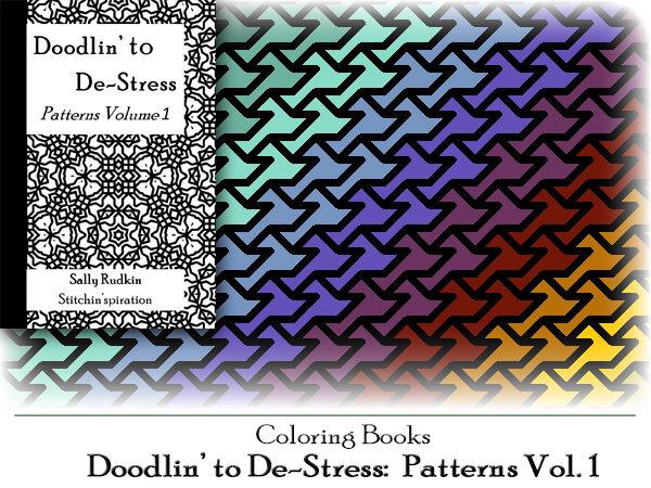 DtDs-P01: Doodlin' to De-stress: Patterns Vol. 1