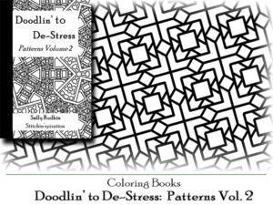 DtDs-P02: Doodlin' to De-stress: Patterns Vol. 2