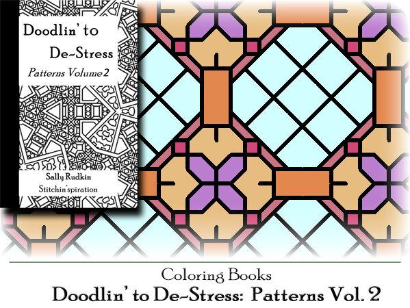 DtDs-P02: Doodlin' to De-stress: Patterns Vol. 2