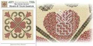 BQ-2101: Hearts & Tulips Sampler