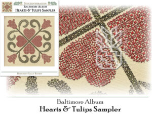 BQ-2101: Hearts & Tulips Sampler