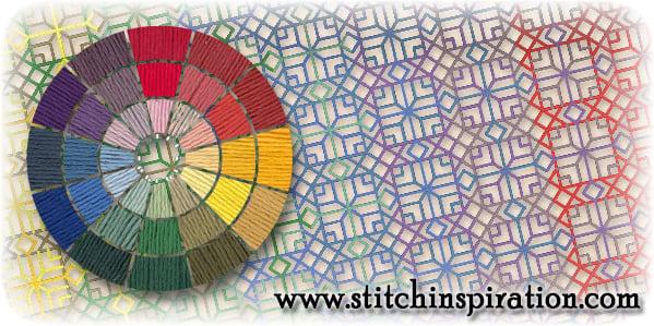 Thread Scheme - SCT001 Kreinik Silk Mori: