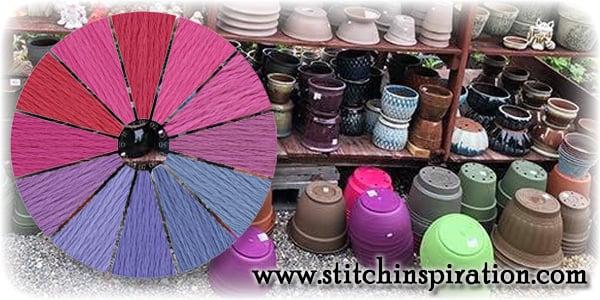 Thread Scheme - SCT005-3B Lavender Fields