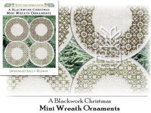 ABC-0722: Mini Wreath Ornaments