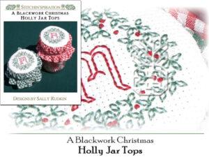 ABC-0723: Holly Jar Lids