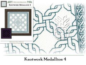 BN-0304: Knotwork Medallion 4