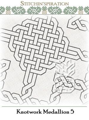 BN-0305: Knotwork Medallion 5