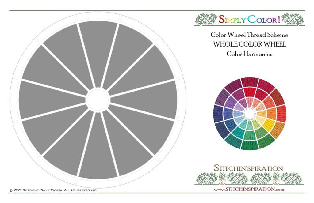 Color Harmonies - Whole Color Wheel