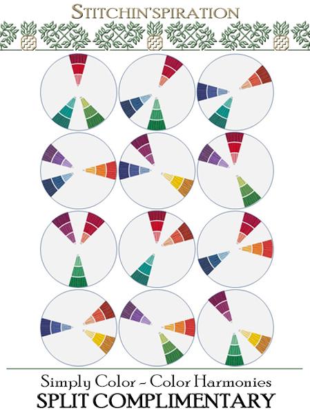 Color Harmonies - Split Complimentary