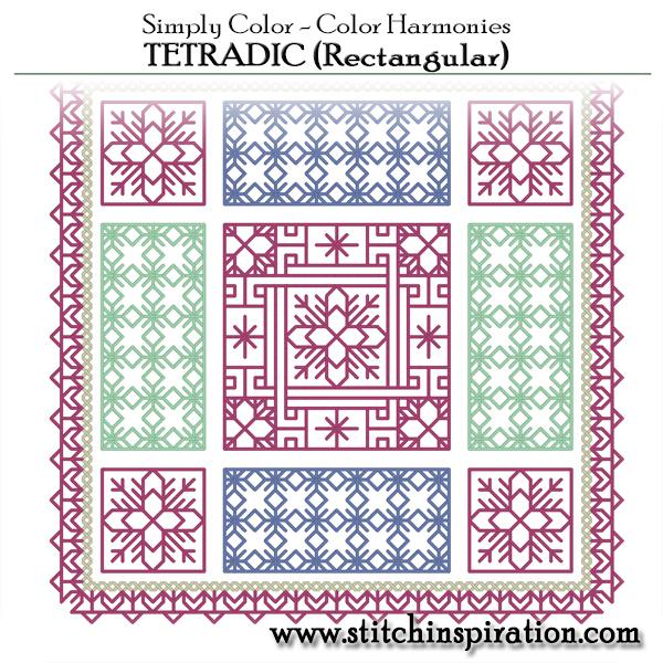 Color Harmonies - Tetradic (Rectangular)