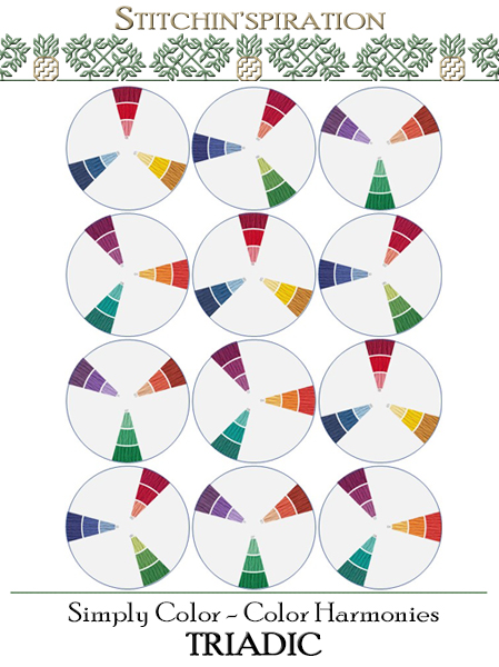 Color Harmonies - Triadic