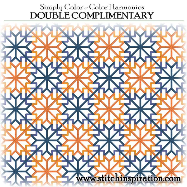 Color Harmonies - Double complimentary