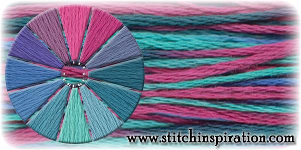 Thread Scheme - SCT026 Bougainvillia