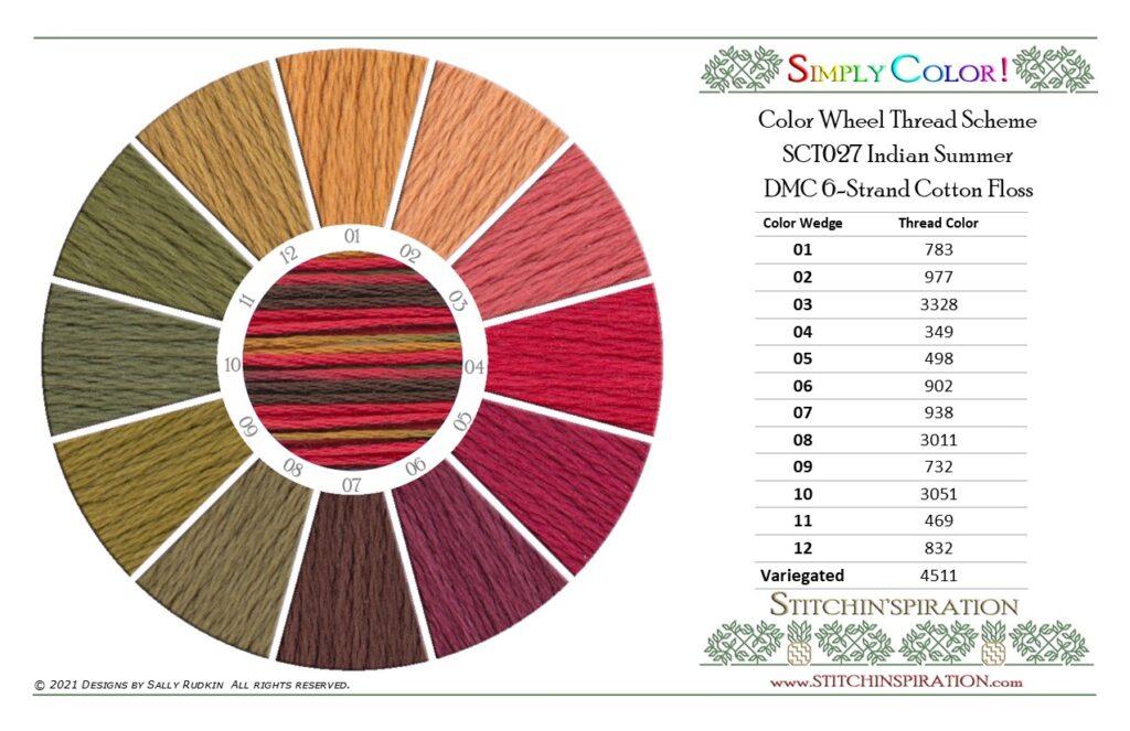 Thread Scheme - SCT027 Indian Summer