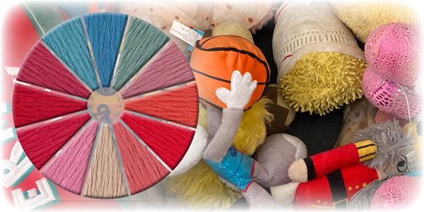 Thread Scheme - SCT030 Dogs Toys