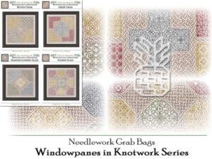 GB-2101 Windowpanes in Knotwork