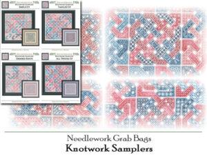 GB-2102: Needlework Grab Bags - Knotwork Samplers