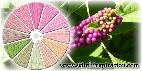 Thread Scheme - SCT034 Beautyberry