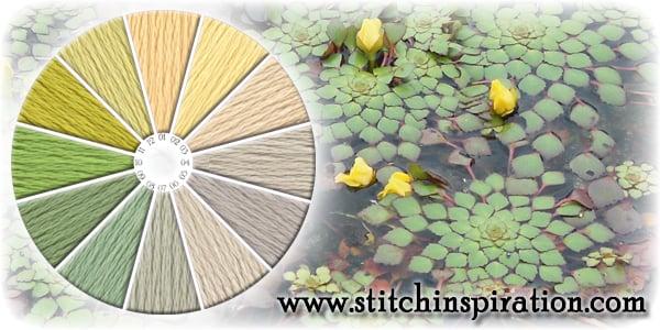 Thread Scheme - SCT035 Mosaic on Water